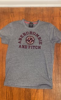 Abercrombie & Fitch Muscle T- Shirt w/ Seemed Lettering
