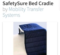 Safety bed cradle , cuna de cama de seguridad Lancaster, 93534