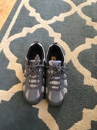 pair of black Nike Air Huarache shoes Fort Belvoir, 22309