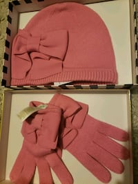 kate spade Dorothy bow beanie and glove set box Toronto, M3H 4W9