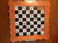 Antique Chess set (board missing 3 tiles) Long Branch, 07740