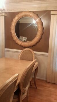 brown wooden framed mirror with mirror Fort Washington, 20744