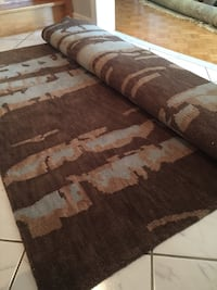 Area Rug - 100% New Zealand Wool/Hand Knotted in India Vaughan