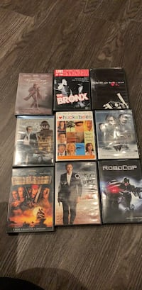 assorted DVD movie case lot Downey, 90241