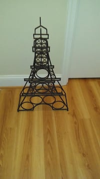 black metal Wine Rack Laurel, 20708