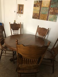 All wooden table with chairs! Ventura, 93003