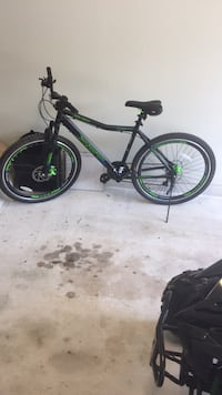 black and green hardtail mountain bike Houston, 77082