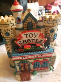 Christmas Toy Castle.
