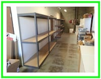 Warehouse Shelving Office Garage Storage Racks 48 in. W x 24 D New Los Angeles