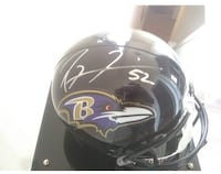 Ray Lewis Autographed Helmet and Jersey... $500 or obo  Baltimore, 21223