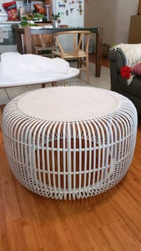 Style in form rattan coffee table Vancouver, V5X 3R3