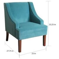 HomePop Accent Chair (2) New York