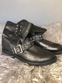 Leather boots size 38 Sydney, 2000