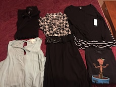Ladies large light weight clothing- 5 pcs total for $10