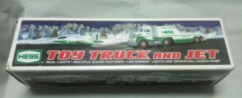 HESS Exclusive Toy Truck & Jet 2010 New in Box