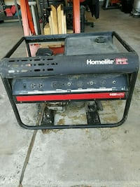 black and red portable generator Castro Valley, 94546