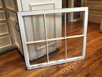 Old window with glass panes- wall decor Mission, 66202