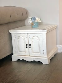 Solid Pine End Table Central Frontenac