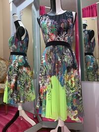 New  BCBG Multi Coloured Dress (Size xsmall)