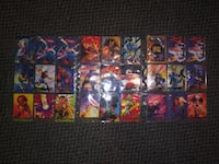mid 1990's MARVEL COMICS TRADING CARDS Baltimore