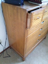 brown wooden chest of drawers Tacoma, 98467