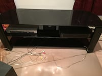 black and gray TV stand Falls Church, 22042