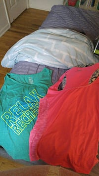 Green and Pink Tank Top 3X