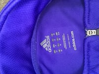 Purple and green adidas track jacket Holly Springs, 27540