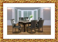5pc dining table set with 4 chairs free delivery Ashburn, 20147