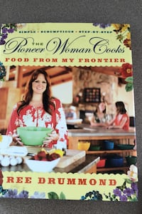 Pioneer Woman cookbooks. $15 for the set