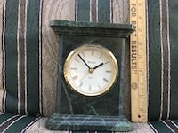 black and green desk clock marble Stratford, N4Z