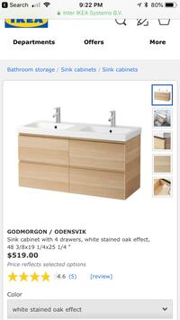 IKEA bathroom storage Placentia, 92870