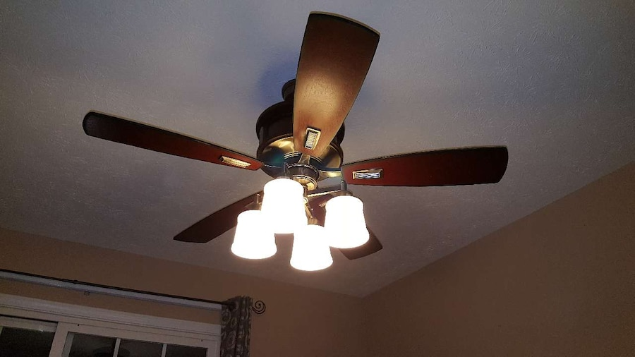 "letgo - 50"" Ceiling Fan With Remote Control in Amelia, OH"