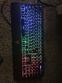 Gaming Keyboard (multi-color) Las Vegas, 89128