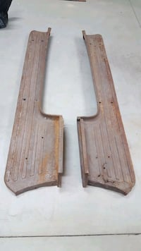 Pair of running boards for a 1953- 1956 Ford f100  Menifee, 92584