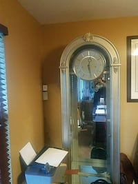 Howard Miller Grandfather clock and cabinet