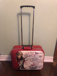 "BRATZ ROCK ANGELS TRAVEL LUGGAGE! 12"" LENGTH 17"" WIDTH 5.5"" DEPTH! Toronto, M1S 1V9"