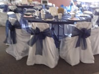 white satin chair covers universal LANGLEY