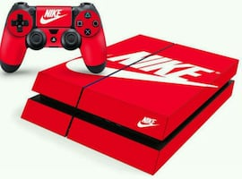 Nike shoe box skin for the ps4