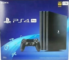 Sony PlayStation 4 Pro 1TB Video Game Console - Black
