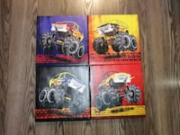 Monster truck canvas pictures