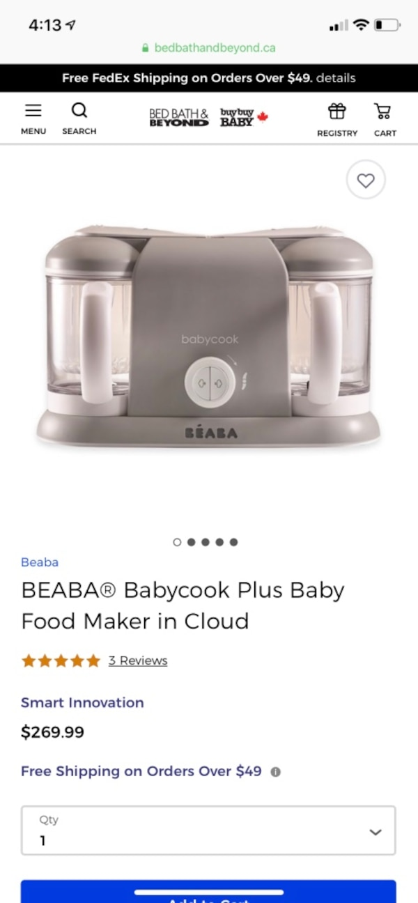 Beabe Baby cook pro