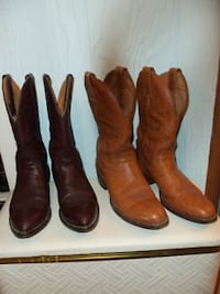 western boots   made in Canada