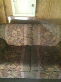 floral fabric family and love sofa 836 mi