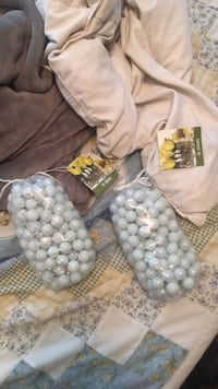 White marbles for candles plants  Hokes Bluff, 35903