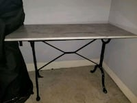 Marble French bistro table