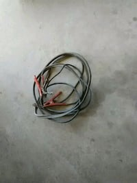 20' ft Black and red heavy duty jumper cables Moorhead, 56560