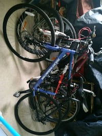 blue and red hardtail mountain bike Welland, L3B 5N5