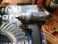 black and gray impact wrench with box Sexsmith, T0H 3C0