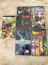 Lot of PSP GAMES AND MOVIE Lawndale, 90260